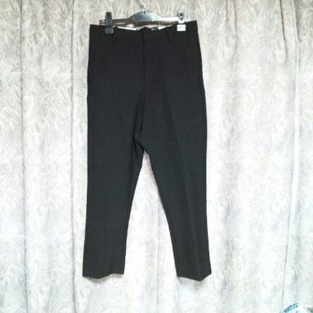 ZARA(ザラ)のZARA MAN厚手ストレッチクロップドパンツ Y'sヨウジヤマモト メンズのパンツ(スラックス)の商品写真