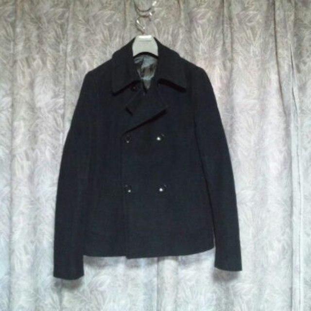 ZARA(ザラ)のZARA MANタイトPコート H&MヴァンキッシュDOWBL メンズのジャケット/アウター(ピーコート)の商品写真
