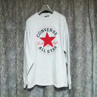 コンバース(CONVERSE)のコンバースUSA製デカロゴ長袖Tシャツ adidasNIKEロンハーマン(その他)