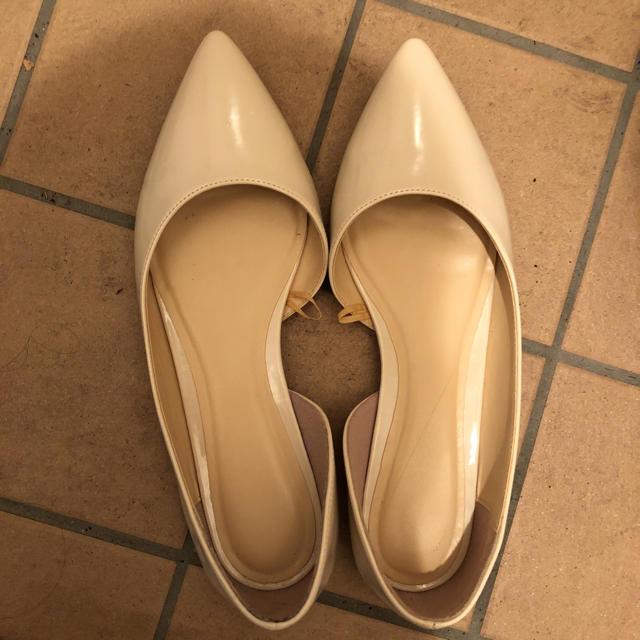 GU(ジーユー)のGU!フラットパンプス☆美品 レディースの靴/シューズ(ハイヒール/パンプス)の商品写真
