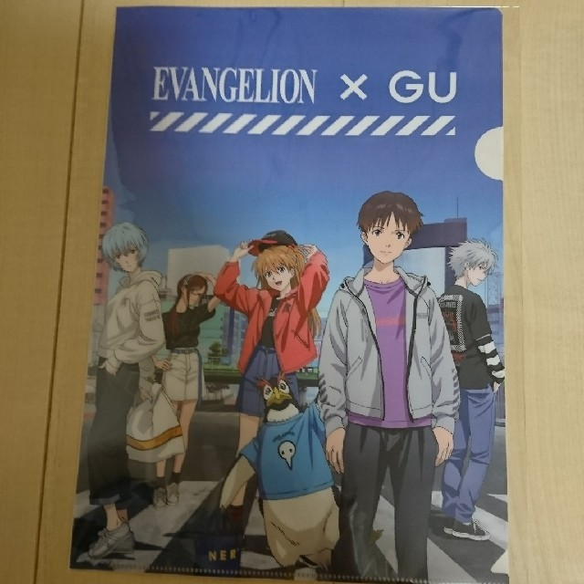 GU(ジーユー)のGU×エヴァンゲリオンコラボ クリアファイル エンタメ/ホビーのアニメグッズ(クリアファイル)の商品写真