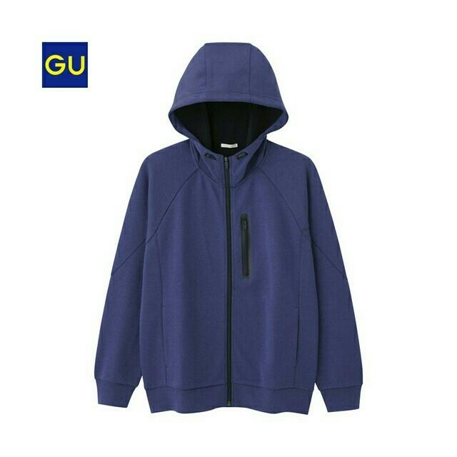 GU(ジーユー)のジーユーg.uアクティブスウェットフルジップパーカ(長袖) メンズのトップス(パーカー)の商品写真
