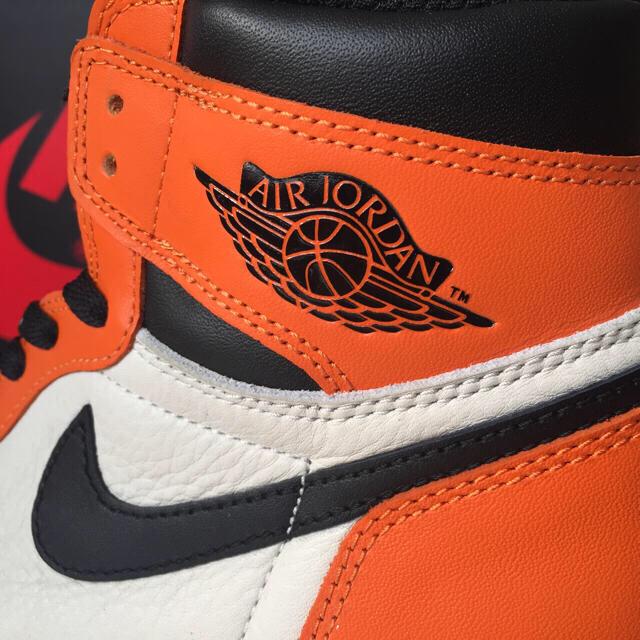 NIKE(ナイキ)の国内正規品 28.0cm 新品 ジョーダン シャッタードバックボード シャタバ メンズの靴/シューズ(スニーカー)の商品写真