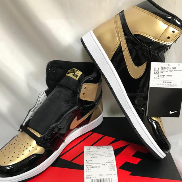 NIKE(ナイキ)の27.5cm エア ジョーダン1 レトロ ハイ gold toe メンズの靴/シューズ(スニーカー)の商品写真