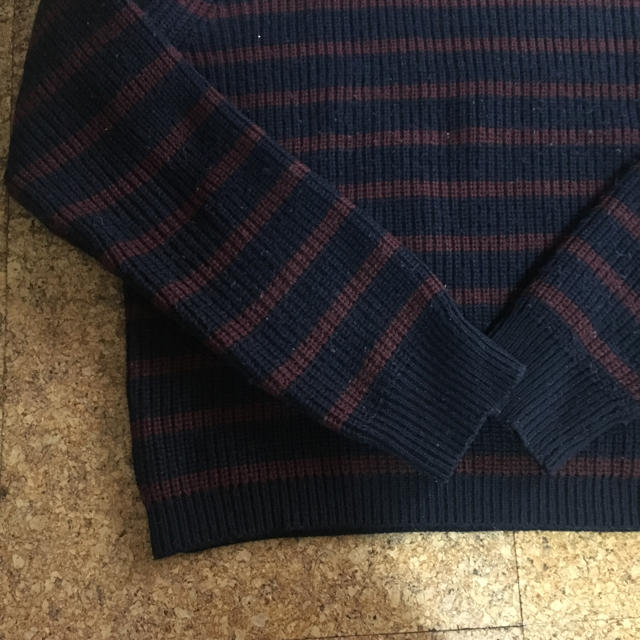 GU(ジーユー)のボーダーセーター レディースのトップス(ニット/セーター)の商品写真