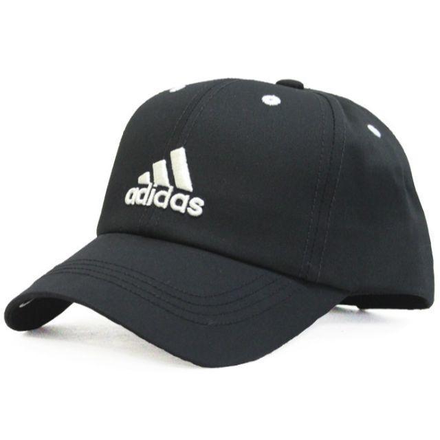 adidas(アディダス)のadidas アディダスキャップ ロゴ( 約54~57cm)★ブラック【新品】 キッズ/ベビー/マタニティのこども用ファッション小物(帽子)の商品写真