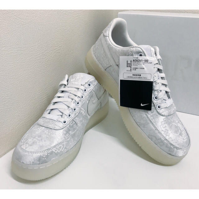 NIKE(ナイキ)の【新品未着用】27cm NIKE エア フォース 1 プレミアム CLOT  メンズの靴/シューズ(スニーカー)の商品写真