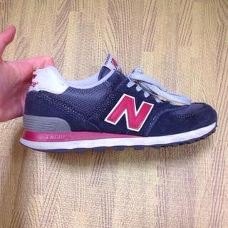 ニューバランス(New Balance)のニューバランス 574 ネイビー(スニーカー)