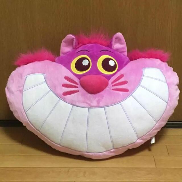 Disney(ディズニー)の不思議の国のアリス チシャ猫 ぬいぐるみ クッション ディズニー インテリア/住まい/日用品のインテリア小物(クッション)の商品写真