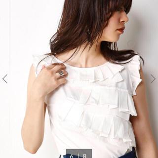 スライ(SLY)のSLY レイヤーフリルトップス(Tシャツ(半袖/袖なし))