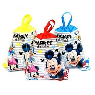 ディズニー(Disney)の★在庫処分セール★ミッキーマウス ナップサック 体操服バッグ   プールバッグ(体操着入れ)