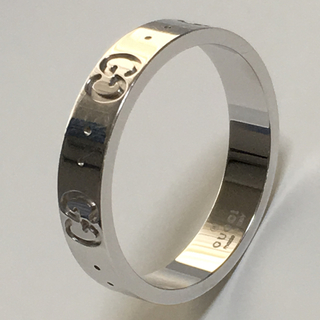 GUCCI アイコン リング k18 WG(リング(指輪))
