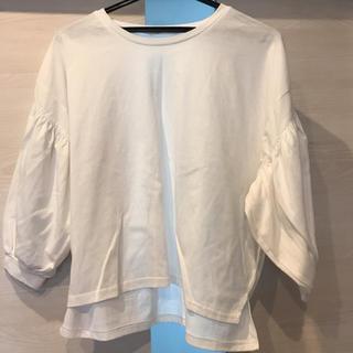 ジーユー(GU)の★5分丈Tシャツ★(Tシャツ(長袖/七分))