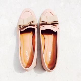ランダ(RANDA)のRANDA*リボンローファー(ローファー/革靴)