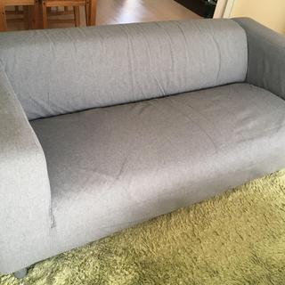 イケア(IKEA)のmegpiiiiさま専用    IKEA 2〜3人掛けソファー KLIPPAN(三人掛けソファ)
