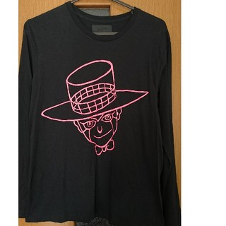 アルトラバイオレンス(ultra-violence)のジョジョ×ultra-violence ヘブンズ・ドアー ロングスリーブTシャツ(Tシャツ/カットソー(七分/長袖))