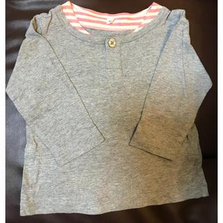 ムジルシリョウヒン(MUJI (無印良品))の無印良品 長袖カットソー 90cm(Tシャツ/カットソー)