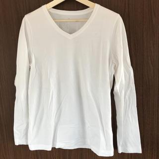 ムジルシリョウヒン(MUJI (無印良品))の無印良品 白Tシャツ(シャツ/ブラウス(長袖/七分))