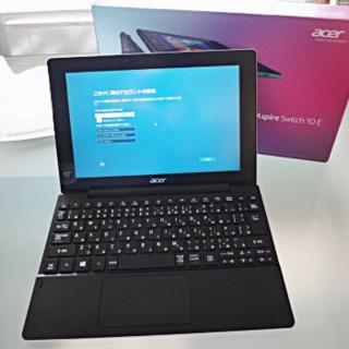 エイサー(Acer)の【送料込】Acer 2in1 Aspire Switch 10E 10.1インチ(ノートPC)