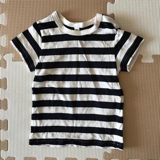 ムジルシリョウヒン(MUJI (無印良品))の無印ボーダーTシャツ80(Tシャツ)