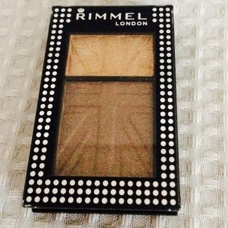 リンメル(RIMMEL)のRIMMELデュアルアイカラー クリーム&パウダー(アイシャドウ)