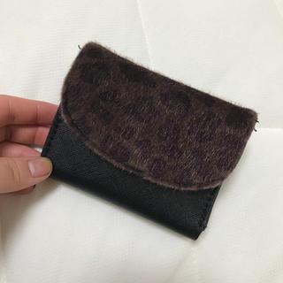 アーバンリサーチ(URBAN RESEARCH)のアーバンリサーチ 財布 折りたたみ財布 ミニ財布 ヒョウ柄(折り財布)