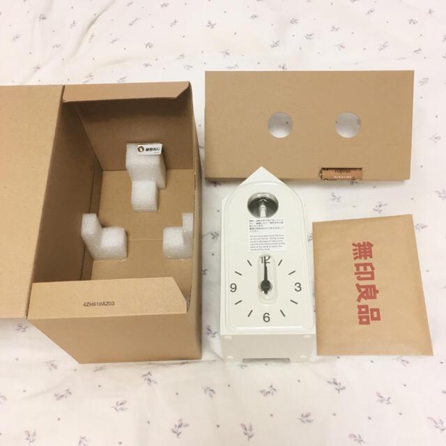 MUJI (無印良品)(ムジルシリョウヒン)の無印良品 鳩時計 インテリア/住まい/日用品のインテリア小物(置時計)の商品写真