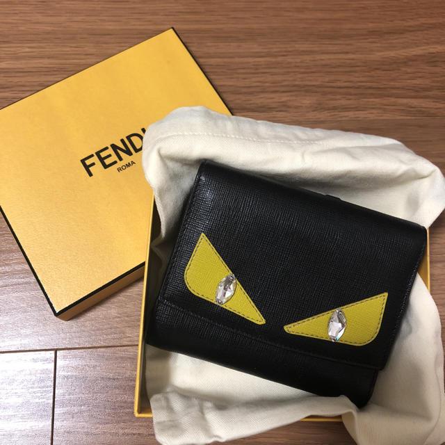 116b363035e0 FENDI - 銀座店限定FENDI三つ折り財布の通販 by Yuri's shop|フェンディ ...
