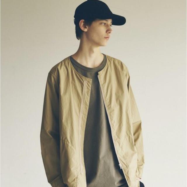 BEAUTY&YOUTH UNITED ARROWS(ビューティアンドユースユナイテッドアローズ)のmonkey time  ノーカラージップシャツJKT メンズのトップス(シャツ)の商品写真