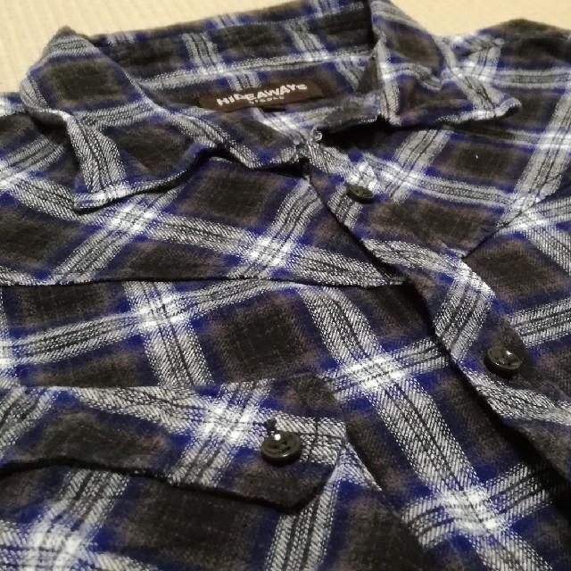 HIDEAWAY(ハイダウェイ)の✨美品✨ハイダウェイニコル 長袖チェックシャツ メンズのトップス(シャツ)の商品写真