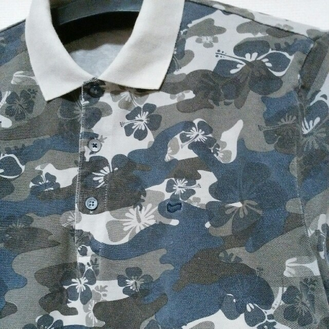 GAS(ガス)のGAS ガス 迷彩  ポロシャツ メンズ   Mサイズ メンズのトップス(ポロシャツ)の商品写真