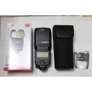 キヤノン(Canon)のスピードライト ストロボ 580EX II(ストロボ/照明)