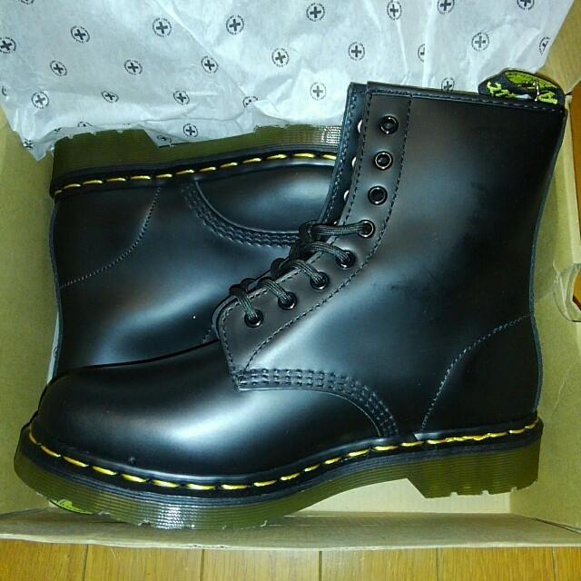 本日限り/ドクターマーチン1460/8ホール/新品未使用/箱付き メンズの靴/シューズ(ブーツ)の商品写真