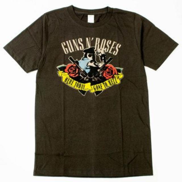 新品 ガンズアンドローゼズ ロック Tシャツ brt-0107/S~XL メンズのトップス(Tシャツ/カットソー(半袖/袖なし))の商品写真