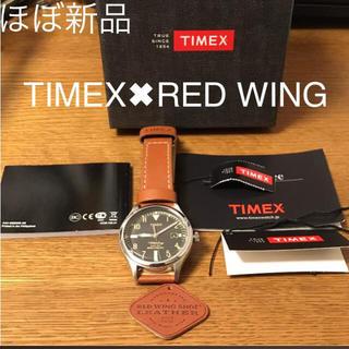 タイメックス(TIMEX)の【ほぼ新品】TIMEX RED WINGコラボ(腕時計(アナログ))