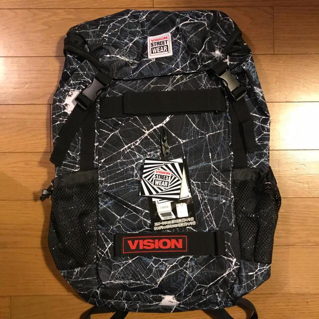 vision street wear 未使用品 vision ビジョン バックパック bagの通販