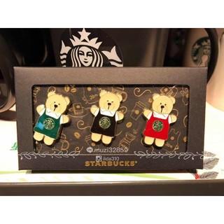 スターバックスコーヒー(Starbucks Coffee)のスターバックス 台湾限定べアリスタ ピンバッジセット(バッジ/ピンバッジ)
