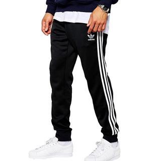 アディダス adidas Track Pants 黒 Mサイズ [並行輸入品](その他)