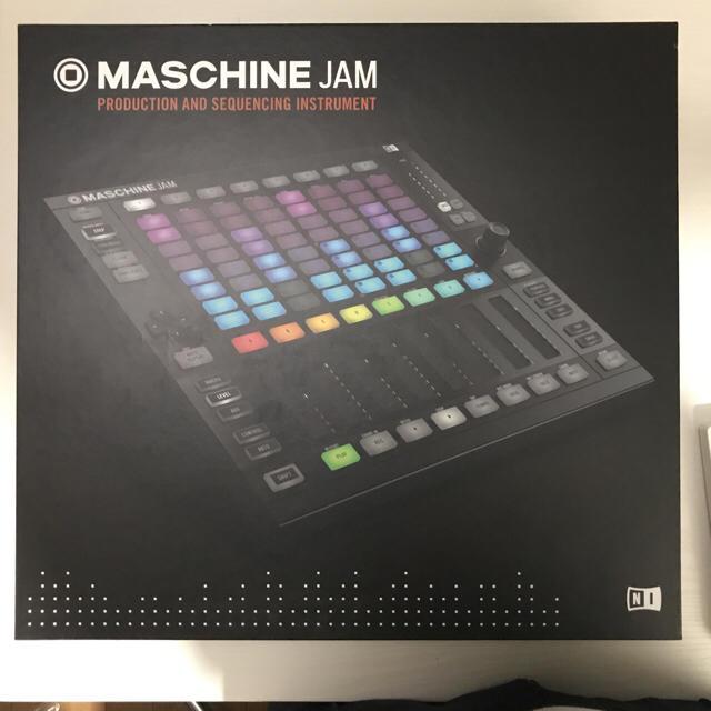 MASCHINE JAM ※KOMPLETE 11 SELECTは付属しません 楽器のDTM/DAW(MIDIコントローラー)の商品写真
