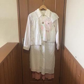 ケイスケカンダ(keisuke kanda)のメアリィ様専用 未使用 プレイコート ベンチコート(ロングコート)