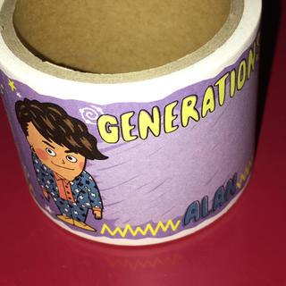 ジェネレーションズ(GENERATIONS)の白濱亜嵐 付箋 マスキングテープ(ノート/メモ帳/ふせん)