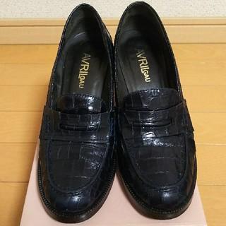 アヴリルガウ(AVRIL GAU)のAVRIL GAU 上質ヒールローファー トゥモローランド(ローファー/革靴)