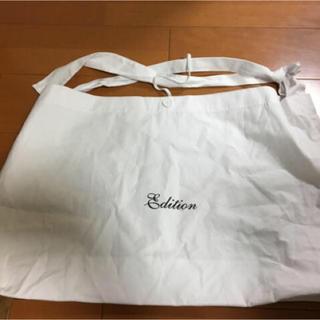 エディション(Edition)のエディションショッピングバック大(ショップ袋)