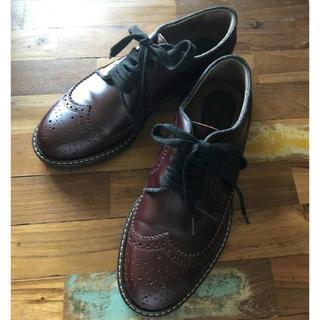 マルニ(Marni)のMARNI ウイングチップレースアップシューズ37(ローファー/革靴)
