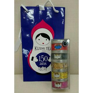 Kusmi Tea OneモーメントOneティー アソート 25g x 5缶(茶)