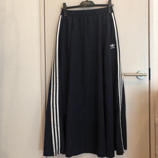 アディダス(adidas)のaddidas スカート(ロングスカート)