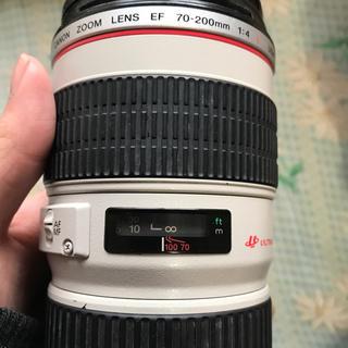 キヤノン(Canon)のCanon EF 70-200 F4L 望遠レンズ(レンズ(ズーム))