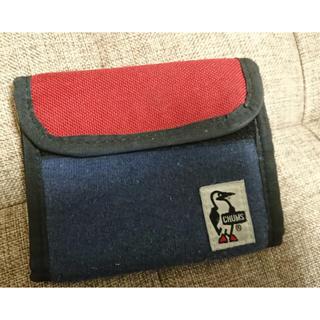 チャムス(CHUMS)のCHUMS チャムス トリフォルドウォレットスウェットナイロン(折り財布)