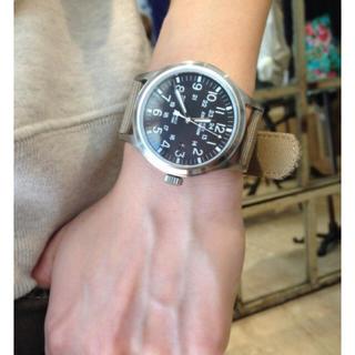 アパルトモンドゥーズィエムクラス(L'Appartement DEUXIEME CLASSE)のアパルトモン☆TIMEX(タイメックス)ミリタリー時計☆新品(腕時計)