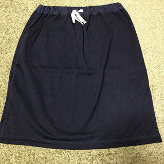 ベルメゾン(ベルメゾン)のカットソー素材  スカート(ひざ丈スカート)